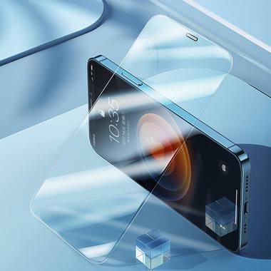 Защитное стекло для iPhone 12 Pro Max 2,5D 0,4mm - Schott glass, фото №1