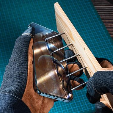 Защитное стекло для iPhone 12 Pro Max 2,5D 0,4mm - Schott glass, фото №4