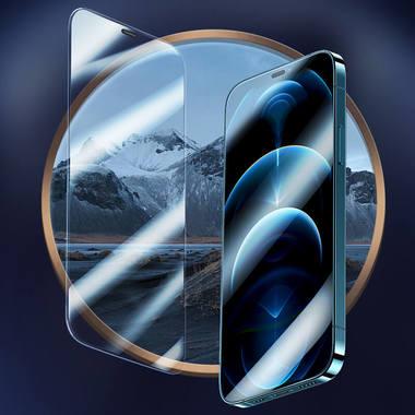 Защитное стекло для iPhone 12 Pro Max 2,5D 0,4mm - Schott glass, фото №5