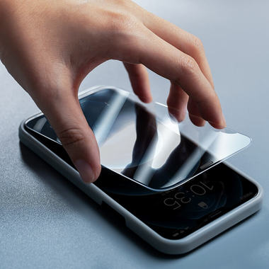 Защитное стекло для iPhone 12 Pro Max 2,5D 0,4mm - Schott glass, фото №9