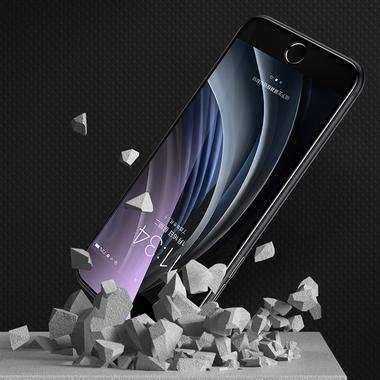 Benks Защитное стекло на iPhone SE 2020/7/8 Черное 3D AntiBlue, фото №4