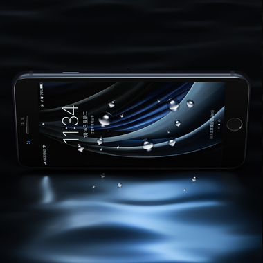 Benks Защитное стекло на iPhone SE 2020/7/8 Черное 3D KR+Pro, фото №3