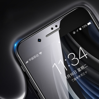 Benks Защитное стекло на iPhone SE 2020/7/8 Черное 3D KR+Pro, фото №5