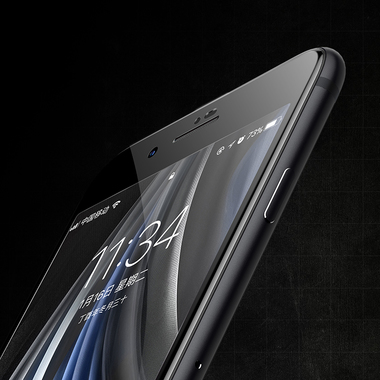 Benks Защитное стекло для iPhone SE 2020/7/8 Черное VPro, фото №25