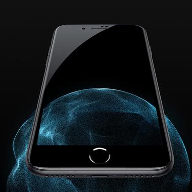 Защитное стекло для iPhone SE 2020/7/8 Черное VPro