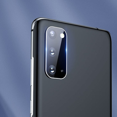 Защитное стекло на камеру для Samsung Galaxy S20, фото №9