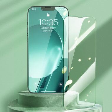"""Защитное стекло на iPhone 13 mini (5,4"""") KR Green Light - 0.15 мм.  2.5D скругление, фото №5"""