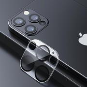Защитное стекло на камеру для iPhone 12Pro Max с черным кантом - 1шт. - фото 1