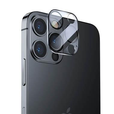 """Защитное стекло на камеру для iPhone 12 Pro (6,1"""") с черным кантом - 1шт., фото №7"""