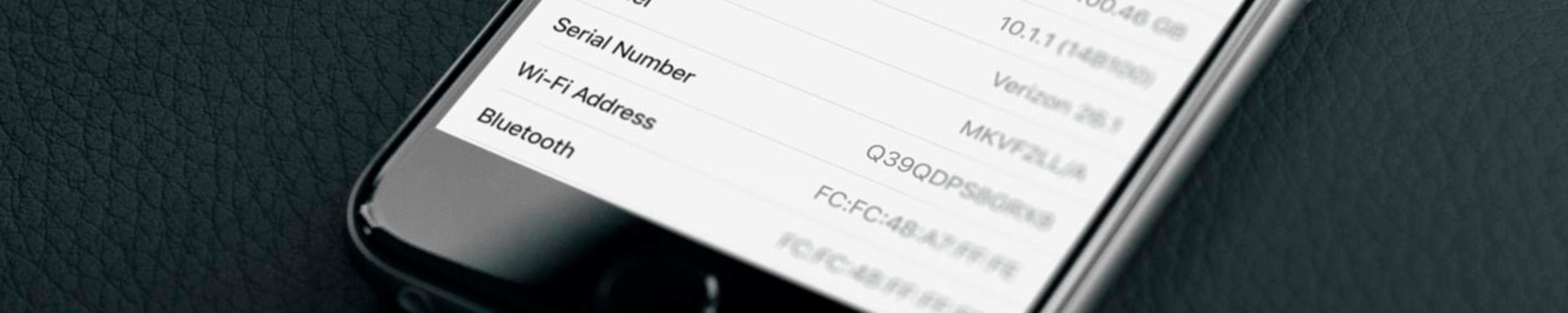 Как узнать серийный номер iPhone или его imei?
