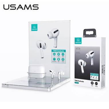 Беспроводные bluetooth 5.0 наушники TWS Earbuds Usams US-YS001 (6958444988689), фото №3