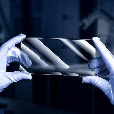 """Приватное (anti-spy) 3D защитное стекло на iPhone 13 Mini (5,4"""") Vpro 0,3 мм черная рамка, фото №5"""