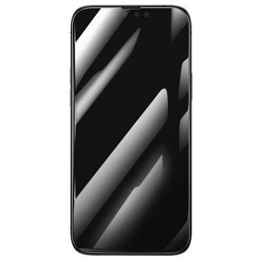 """Приватное (anti-spy) 3D защитное стекло на iPhone 13 Mini (5,4"""") Vpro 0,3 мм черная рамка, фото №6"""