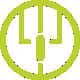иконка запатентованной внутренней компоновки usb кабелей зарядки айфонов