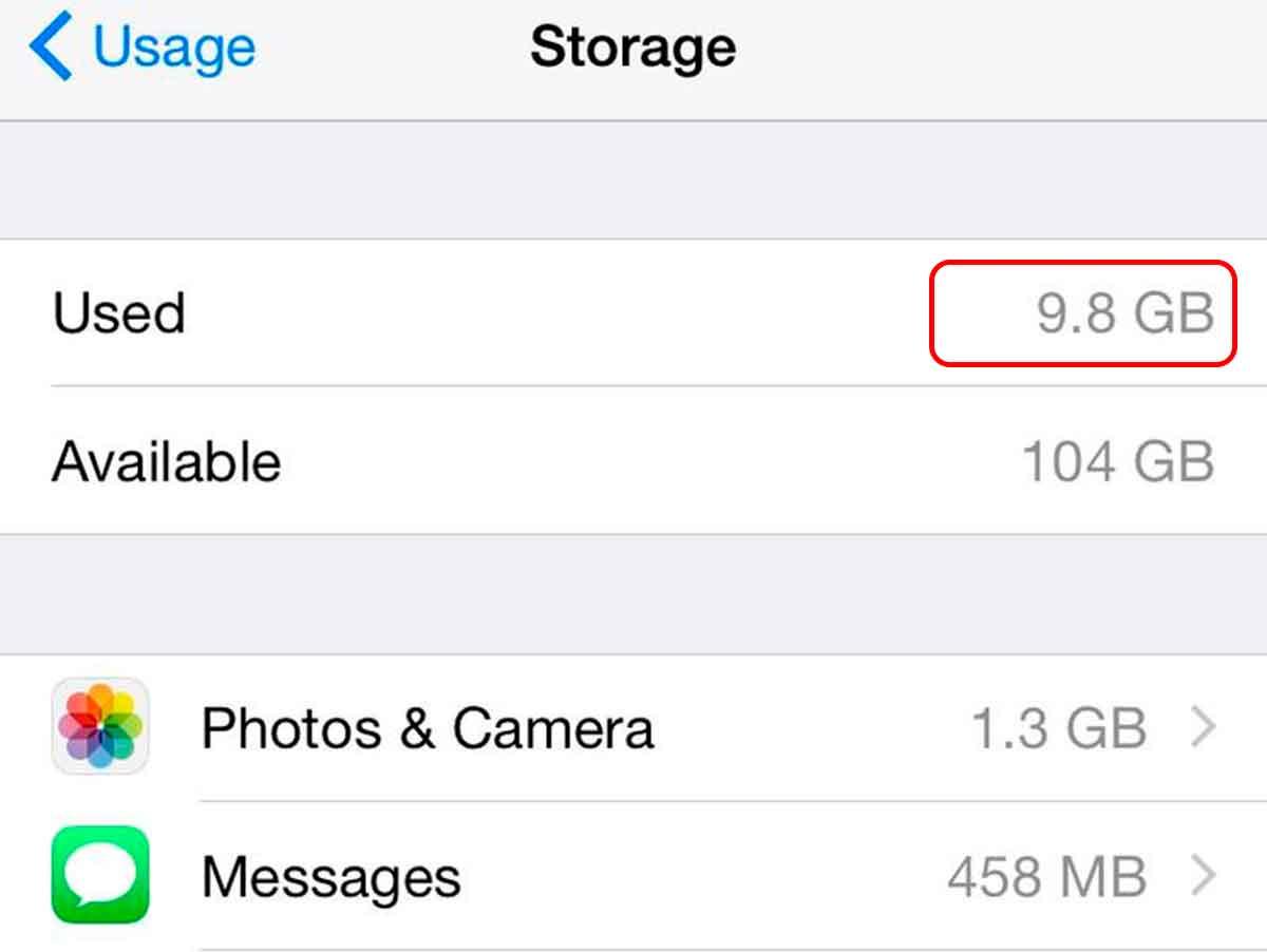 Как освободить память на айфоне 5